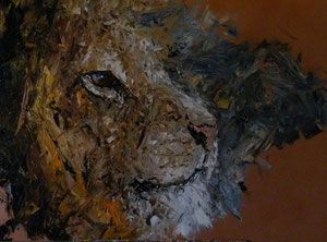 "'Lion ""Landscape""' by Marshall"