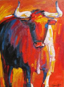 'Taureau 3' by Caouette Raymond