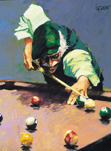 'Billiards' by Aldo Luongo