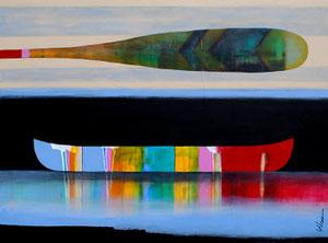 'La douce nuance des bleus' by Sylvain Leblanc