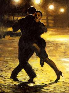 'Tango and Cobblestones' by Aldo Luongo