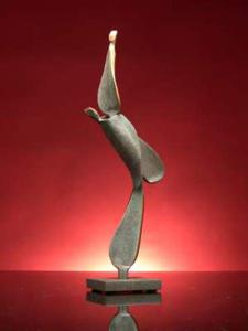 'Rising Hearts' by Kramer Sculpture