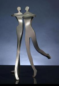 'Elegant Dancers' by Kramer Sculpture