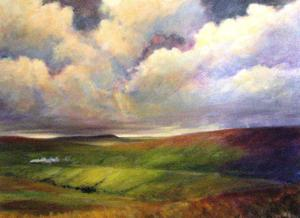 "'Heavy Skies ""Landscape""' by Cunningham Peter"