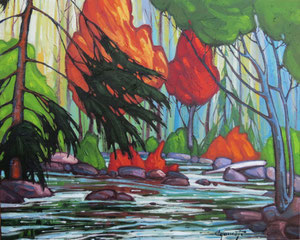 "'Exaltation ""Landscape""' by Caouette Raymond"