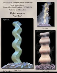 'Sacrifice Digital Maquetteim' by Cherokee LT (Len Totoro)