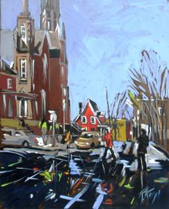 'Church Street' by Roy Robert