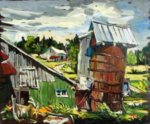 'La Ferme' by Roy Robert