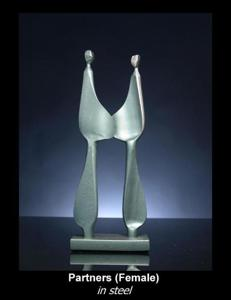 'Partners' by Kramer Sculpture
