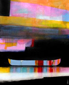 """'Si haut ce trouve ce trou dans les nuages """"Canoe""""' by Sylvain Leblanc"""