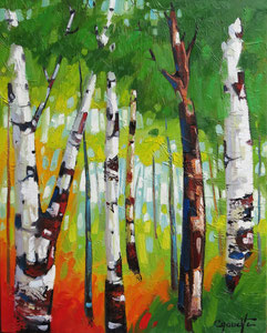 "'Beaute Feroce ""Birch""' by Caouette Raymond"