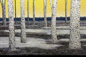 'Twenty Two Birch (1)' by Van Klei Daniel