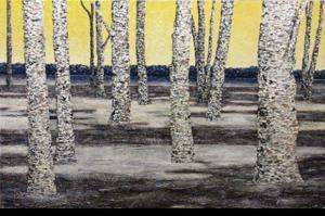 'Twenty Two Birch (2)' by Van Klei Daniel