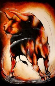 """'Diablo del banderias """"Matador""""' by LeGall Lydie"""