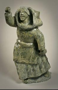 'Iqaluit-Women' by Inuit Sculpture