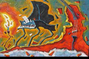 'Musique en tandem' by Faucher Francois