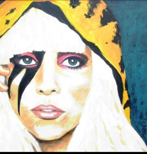 'Lady Gaga' by Modery Martine