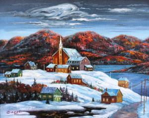 'Noche de invierno II' by Bacci Jesus