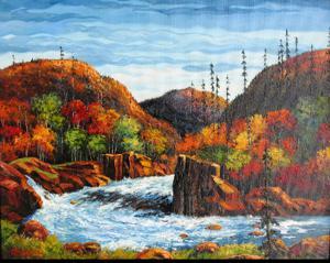 'Rio caudaioso' by Bacci Jesus