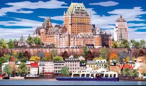 'Quebec, Vue du Fleuve' by Sylvain Michel