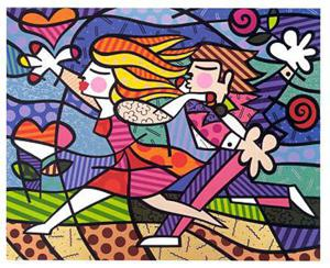 artwork of Britto Romero