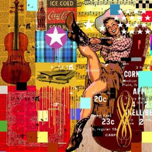 'Cowgirl Music' by Allen Andrew Mark