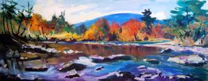 """'La rivière Ausable """"Landscapes""""' by Boissinot Jacques"""