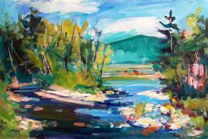 """'Rivière La Pêche """"Landscapes""""' by Boissinot Jacques"""