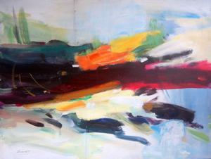 "'Entre ciel et terre #1 ""Abstract""' by Boissinot Jacques"
