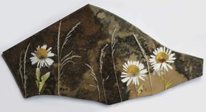 """'Daisy Dance """"Stone Art""""' by Schutten Karyn"""
