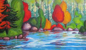 "'4 Octobre ""Landscape""' by Caouette Raymond"