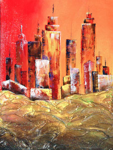 'Crimson Sky' by Schutten Karyn