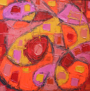 'Still Life in Pink and Orange' by Ferst Jeff