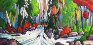 "'Interruption ""Landscape""' by Caouette Raymond"