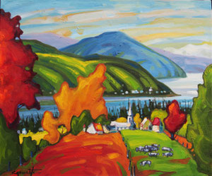 'Charme a Baie St Paul' by Caouette Raymond