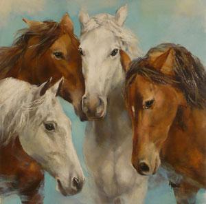 'Como en familia' by Morante Gladys