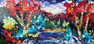 'Couleur du ciel' by Gauthier Gaetan