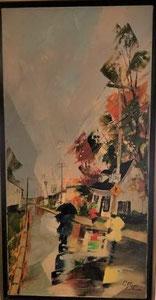 'La rue en couleur' by Leblanc Albini