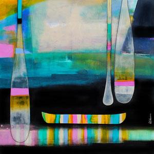 """'le plaisir de tout arreter """"Canoe""""' by Sylvain Leblanc"""