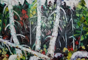 'L'automne de l'age' by Gauthier Gaetan