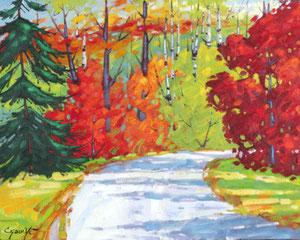 """'Vers le Lac """"Landscape""""' by Caouette Raymond"""