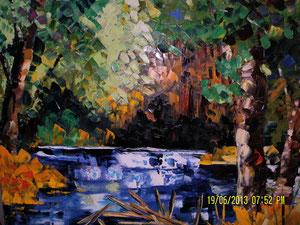 'Branche dans l'eau' by Gauthier Gaetan