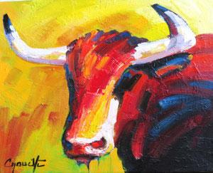 'Taureau 4' by Caouette Raymond