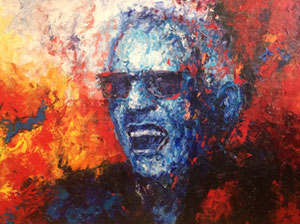 "'Ray Charles ""People""' by Marshall"
