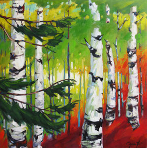"'Fidelite ""Birch""' by Caouette Raymond"