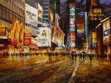 'New York under lights' by Cohaila Eugenio
