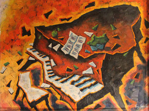 'Piano de Feu 2' by Faucher Francois
